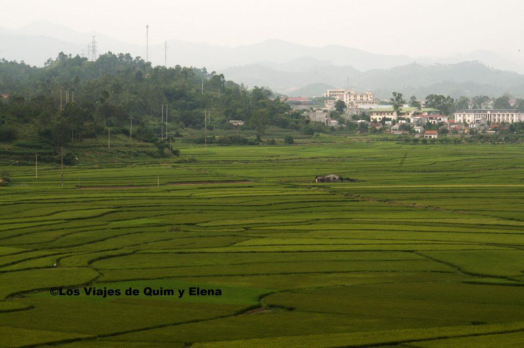 Campos de cultivo en Lang Son