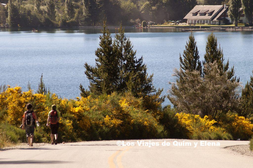 Llegando al Lago Gutierrez