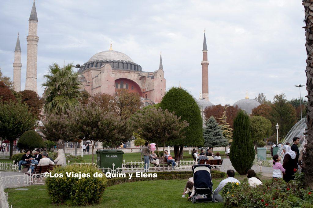 Santa Sofía en nuestro viaje a Turquía