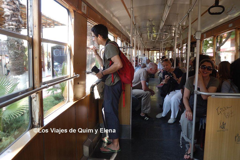 En el tranvia, Hamman de Antalya