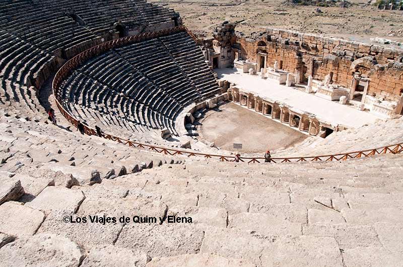 Teatro Romano de Hierápolis