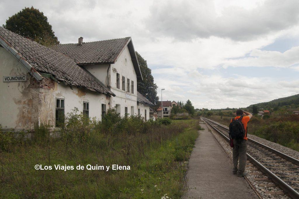 Estación abandonada
