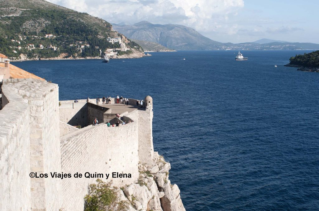 La muralla de Dubrovnik