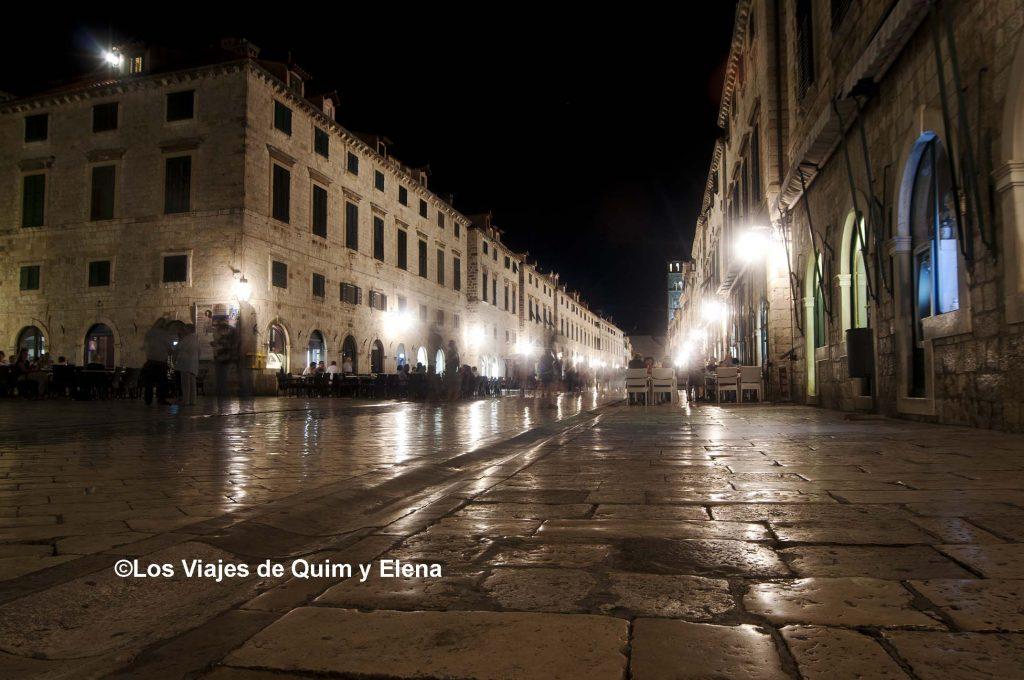 El mármol de Dubrovnik