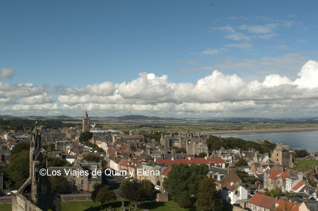 Vistas desde St Rule's Tower