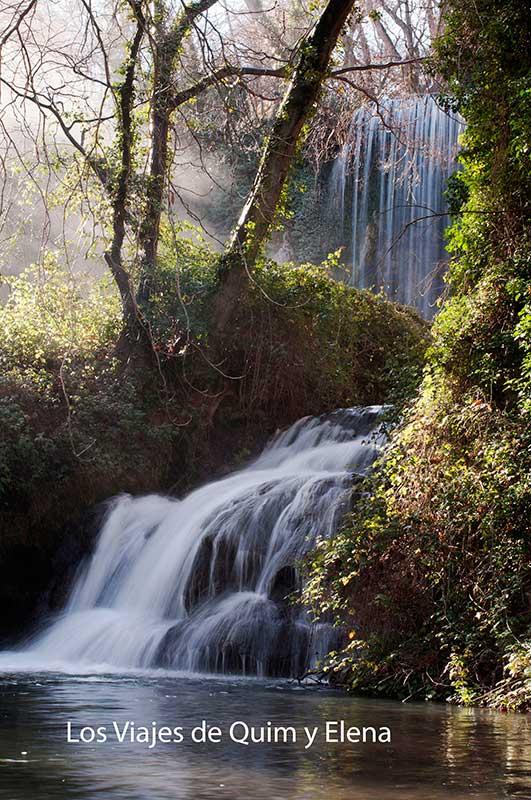 Cascadas por todas partes en el Monasterio de Piedra