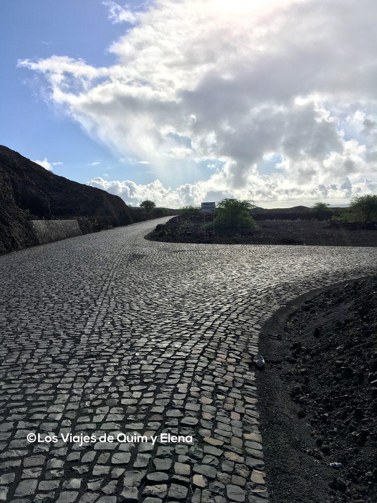 Carretera en Santo Antao