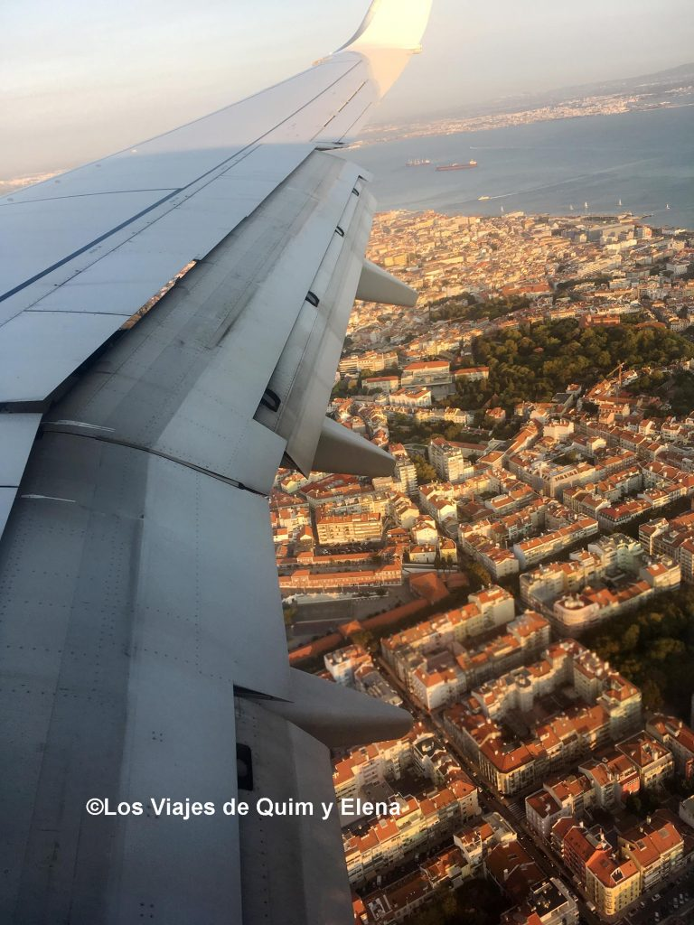 Sobrevolando Lisboa