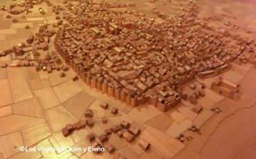 Maqueta de la Barcelona antigua