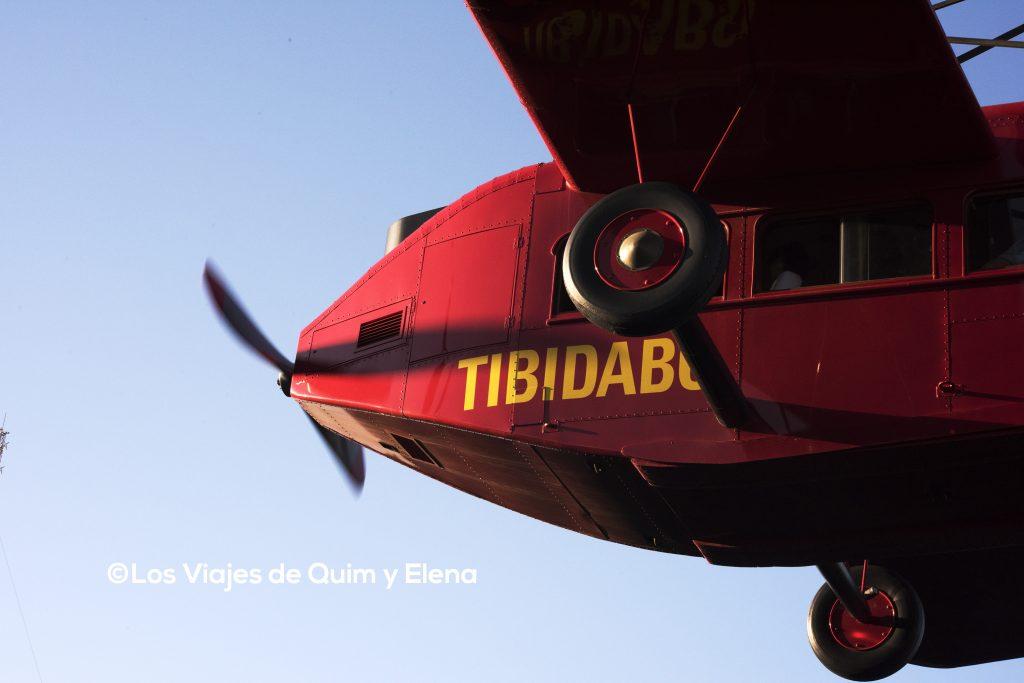 El famoso avión del Tibidabo