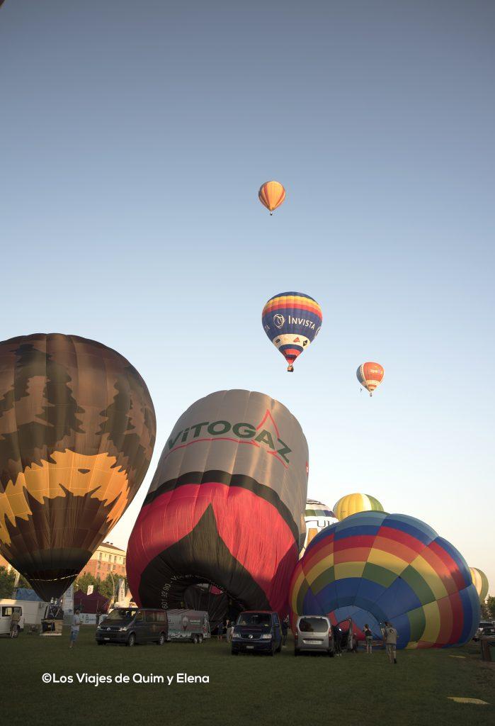 Globos y más globos en Igualada