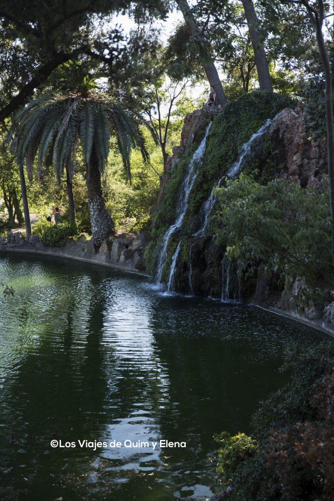 Cascada en la zona romántica