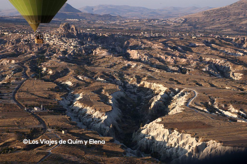 La Capadocia desde las alturas