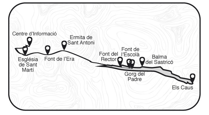 Mapa de la rura