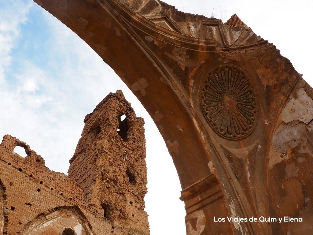 La torre más atacada en la Iglesia de San Martín