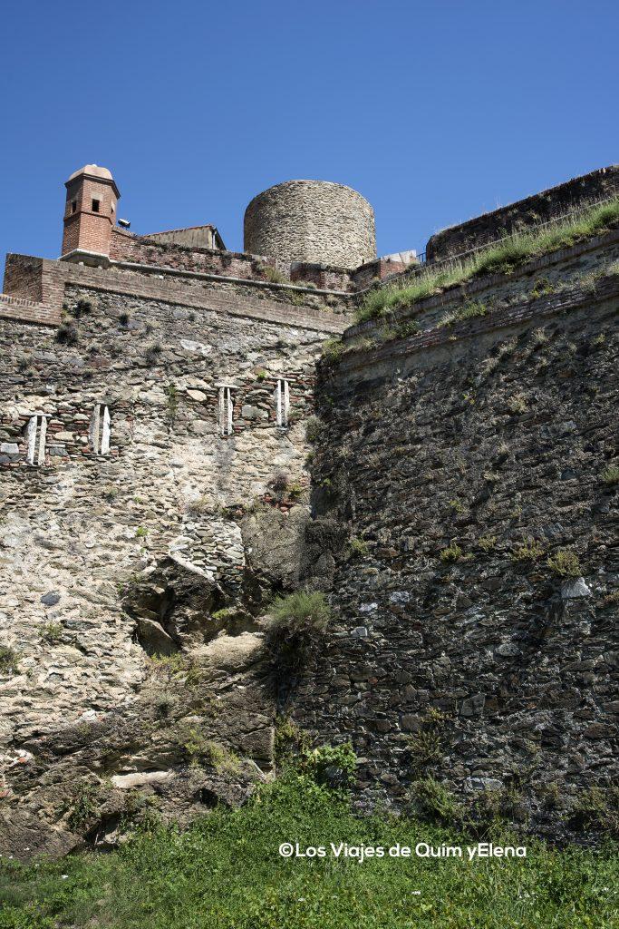 Cada vez más cerca del Fort Lagarde en Prats de Molló