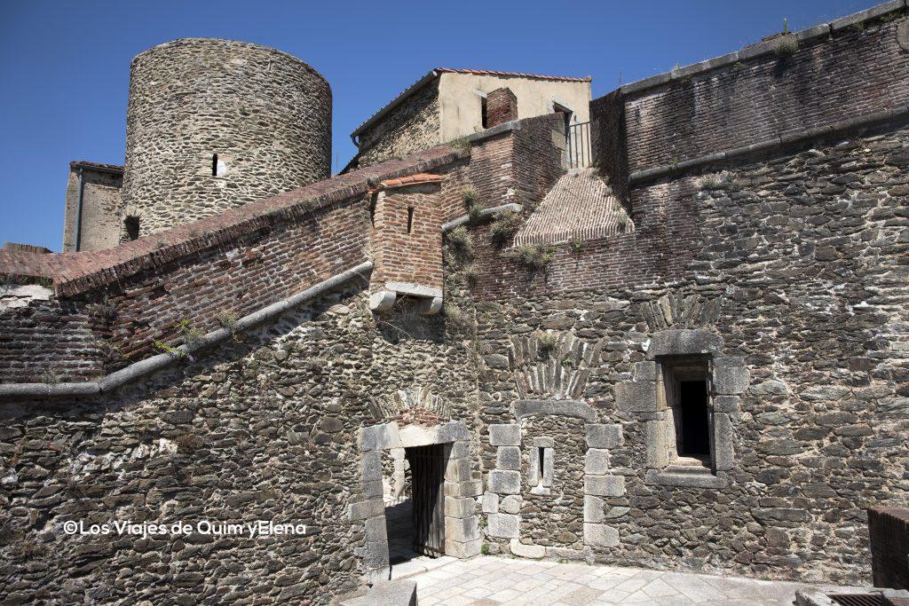 Interior del Fuerte en Prats de Molló