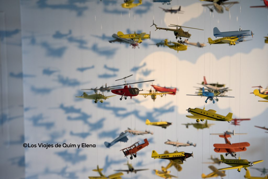 Muchos aviones en Aeroscopia