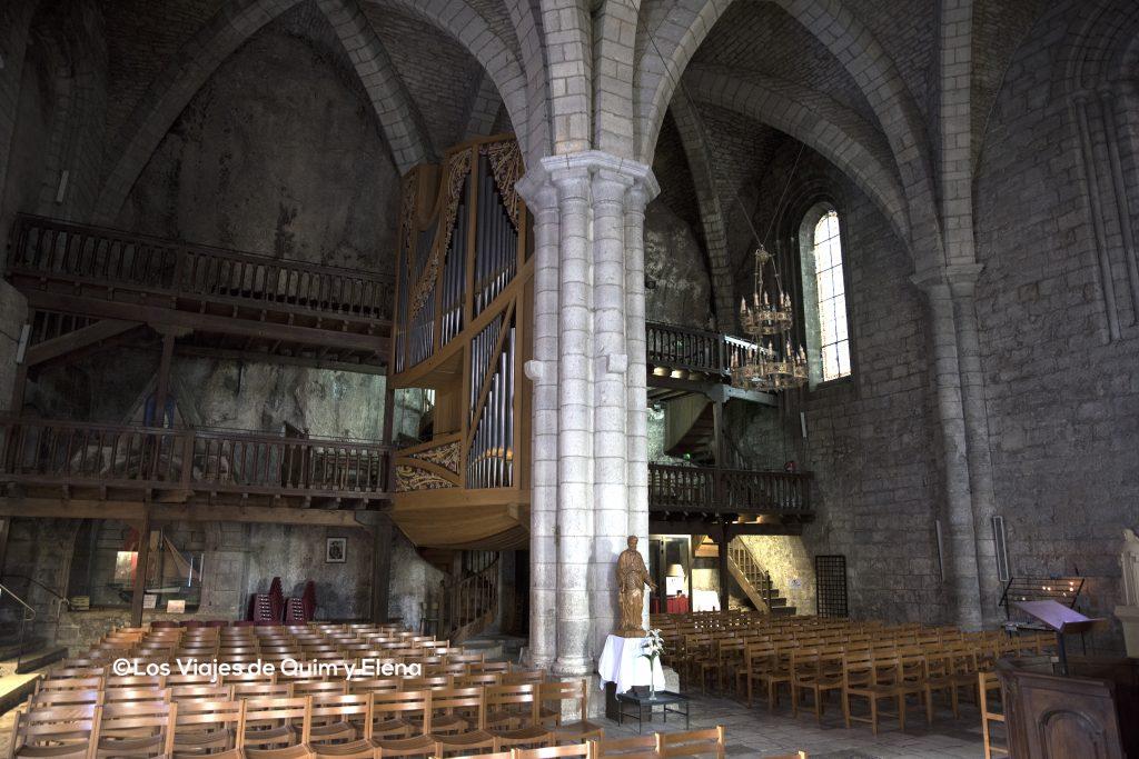 Interior de la Iglesia de San Salvador