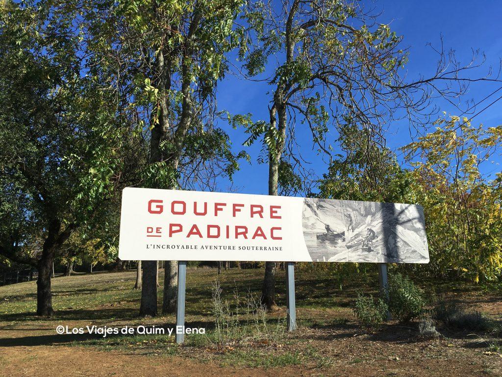 Llegamos a Gouffre de Padirac