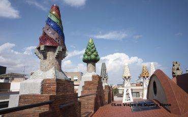 Es una de las zonas más bonitas del Palau Güell