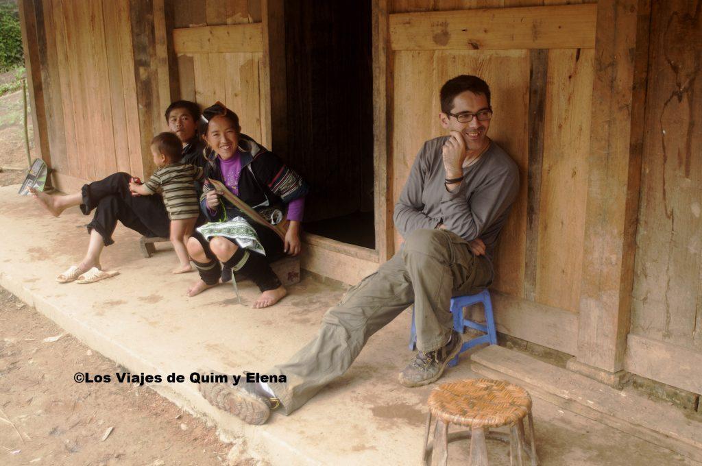 Pasando un buen rato con los Hmong negros