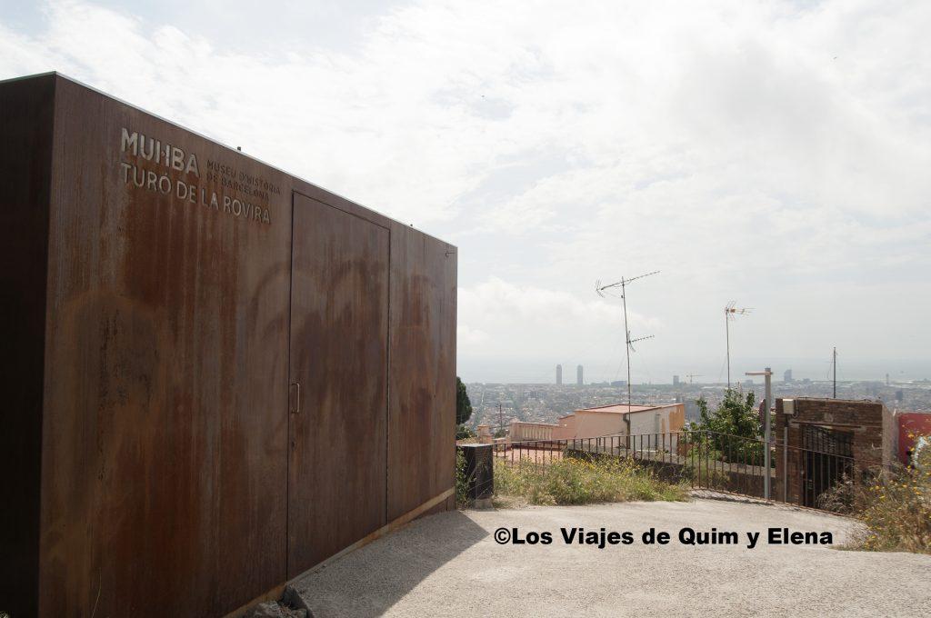 El Muhba en el mirador de Barcelona