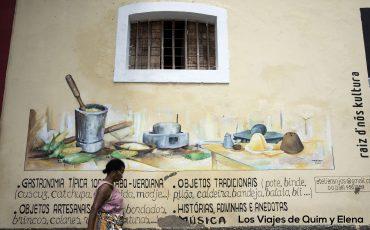 De paseo por Mindelo en Sao Vicente