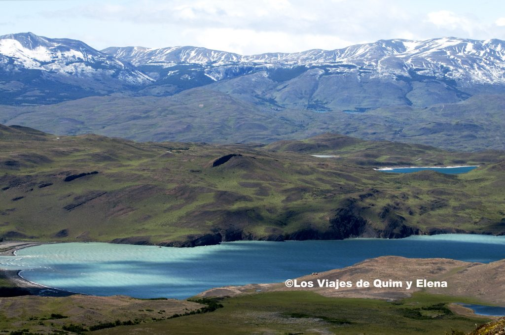 Lago Nordenskjöld en el Parque Nacional Torres del Paine