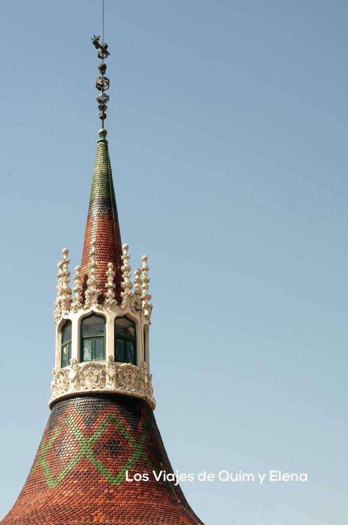 Una de las torres principales