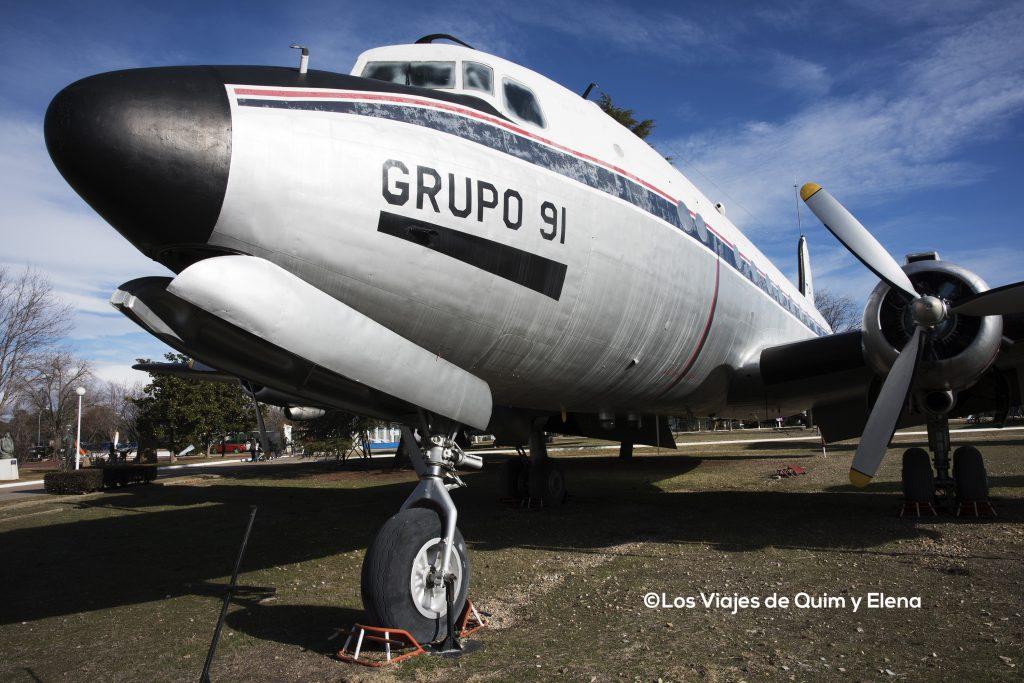 Douglas DC-4 en Museo Aeronáutica