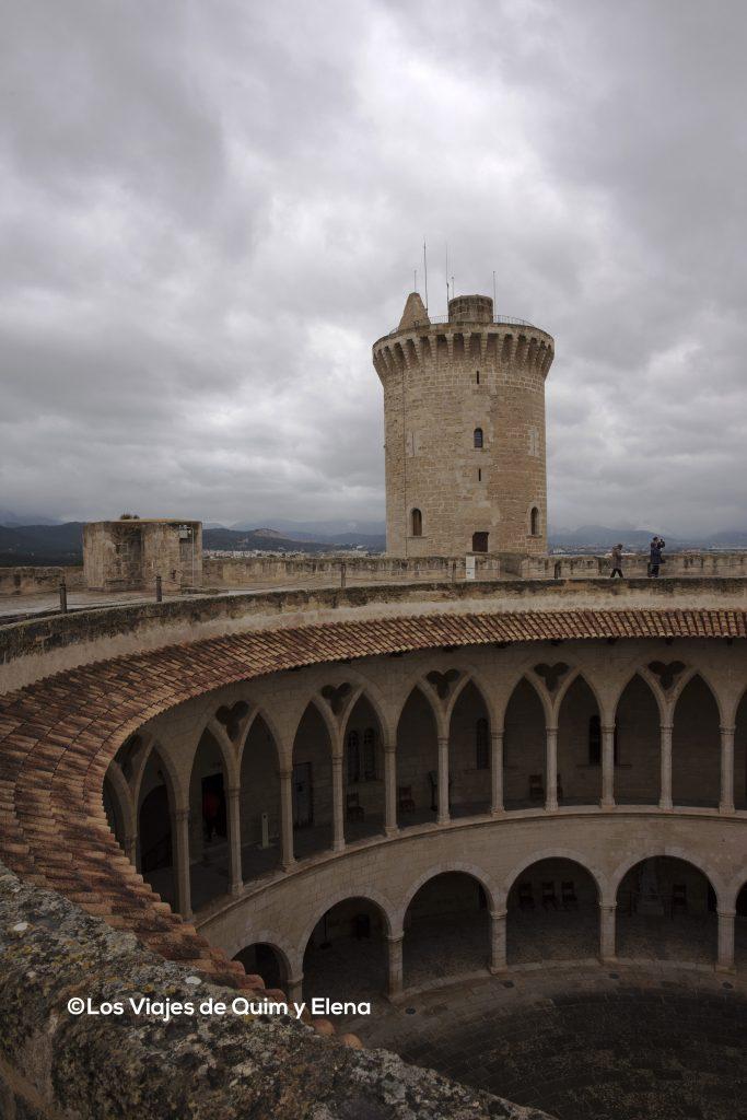 Torre del homenaje del Castillo de Bellver