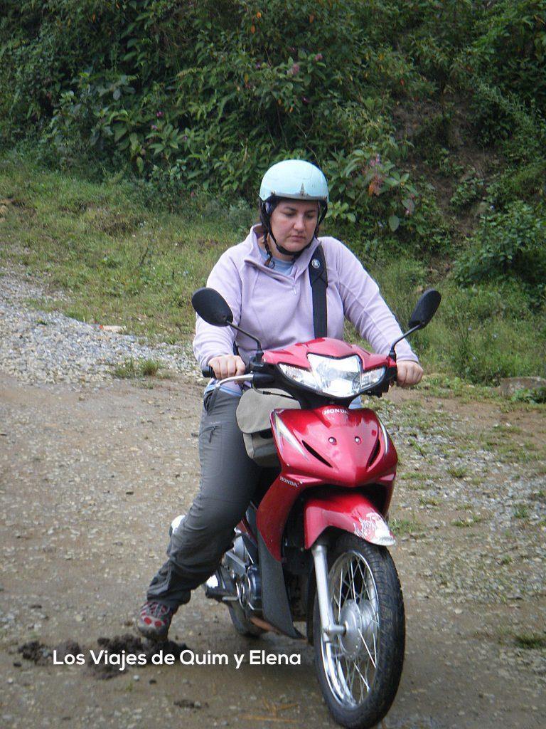 Elena en Vietnam