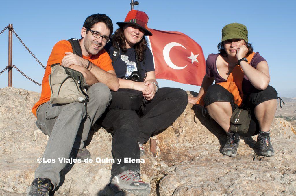 Con nuestra amiga Nuria en Turquía