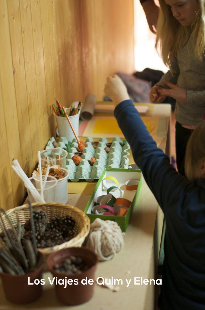 Taller de juego y creatividad de María Folch en la Trobada Familias en Ruta