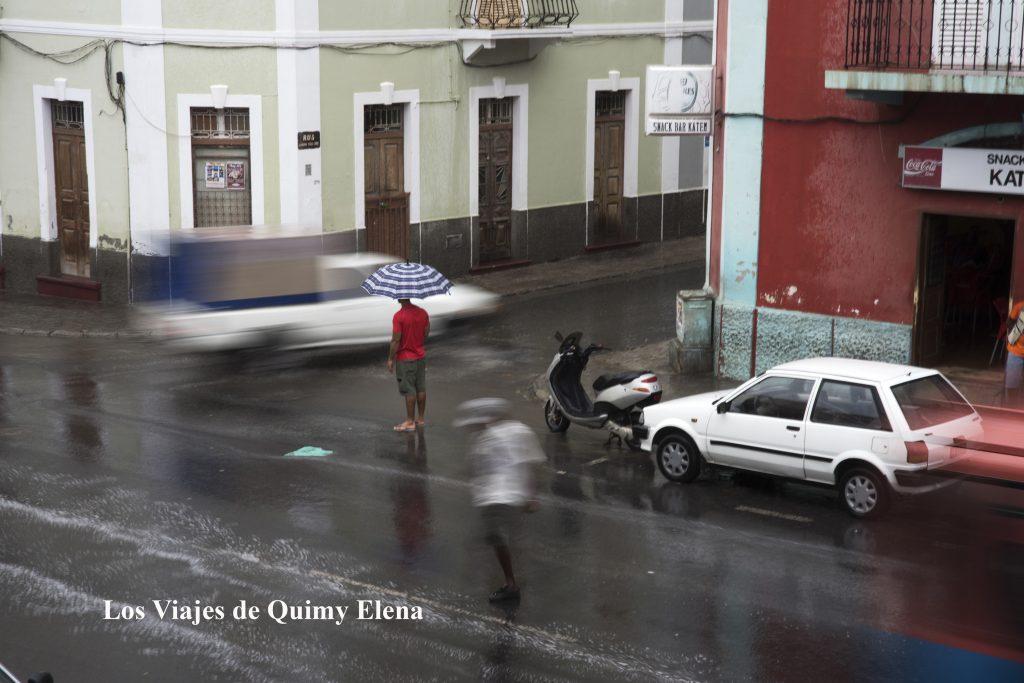 Lluvia en Mindelo la ciudad de Cesaria Evora