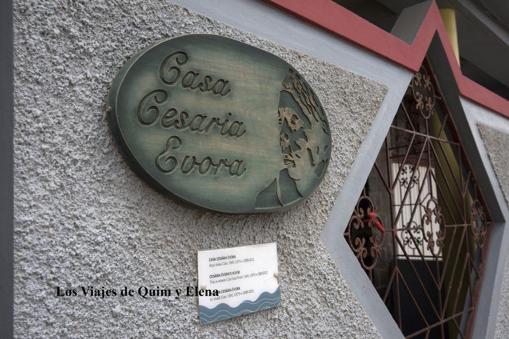 Casa de Cesaria Evora en Mindelo