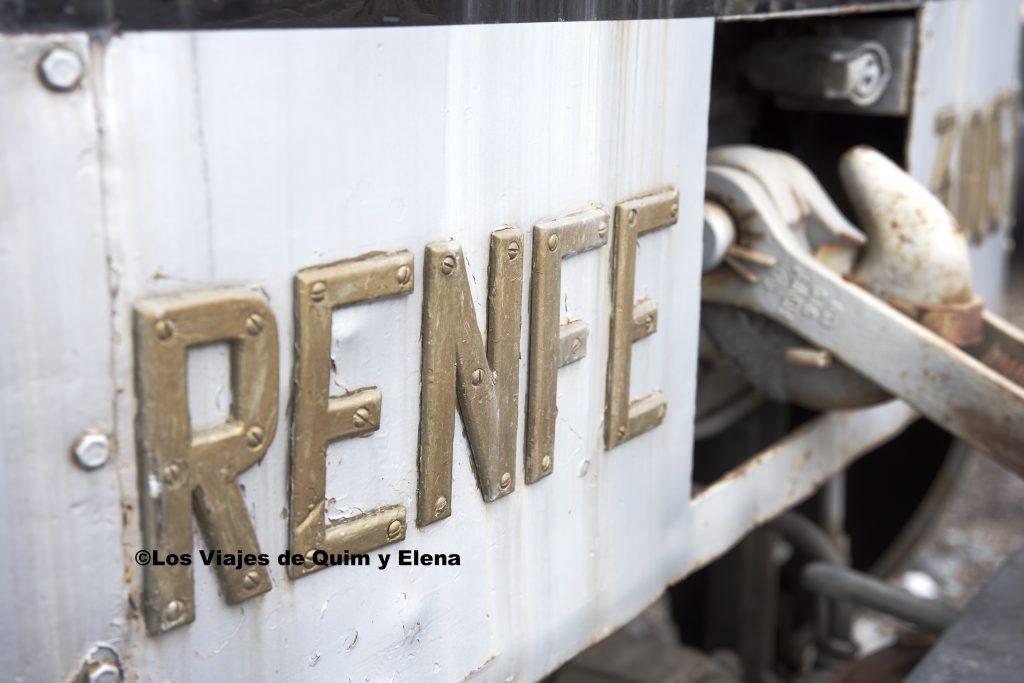 Detalle de una locomotora