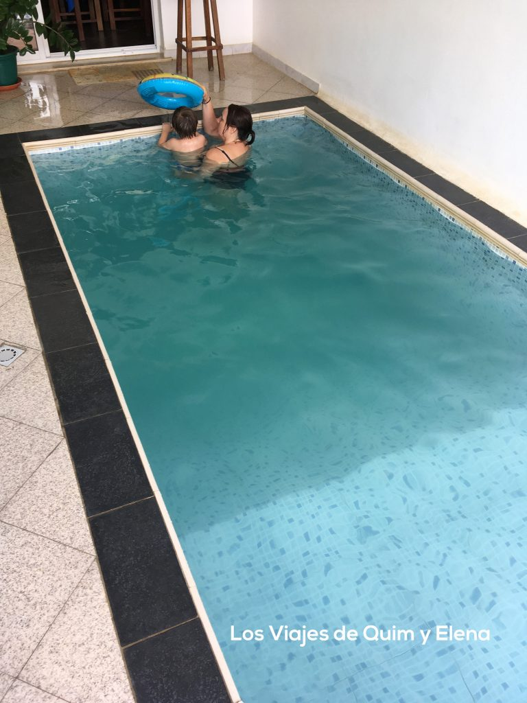 La piscina de Viviani en la capital de Cabo Verde
