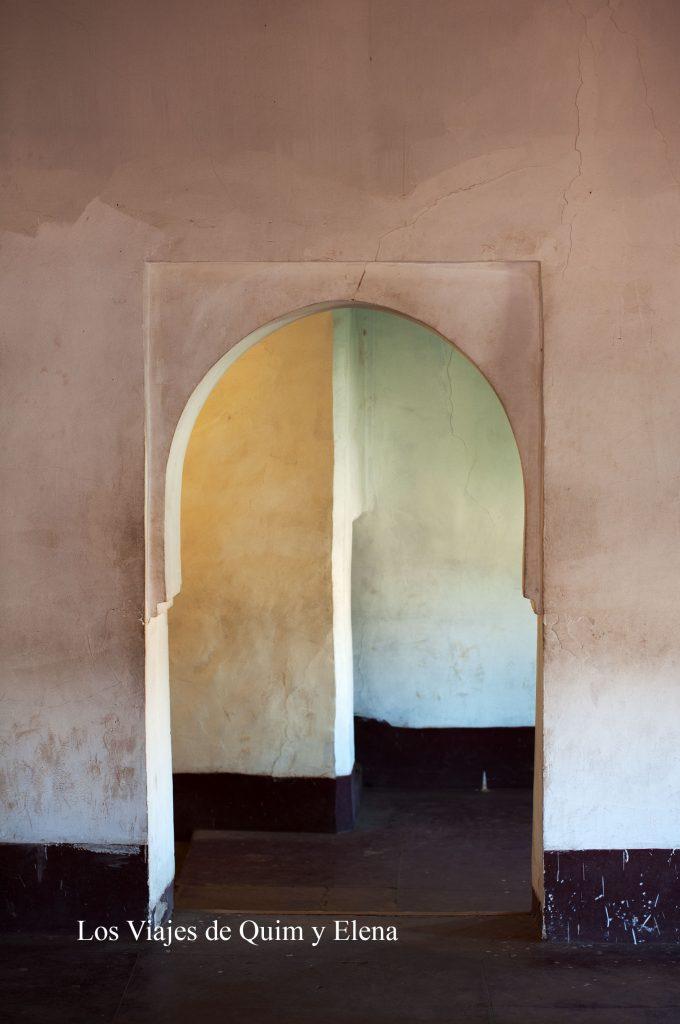 Interior de la Kasbah Taourit