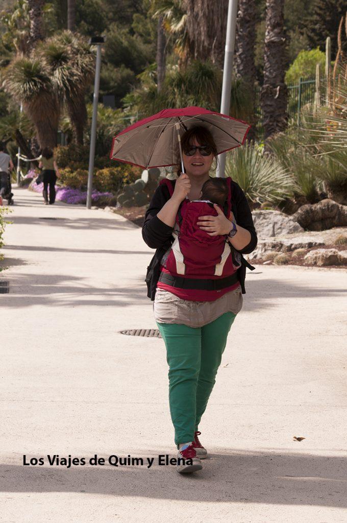 Elena y Éric paseando