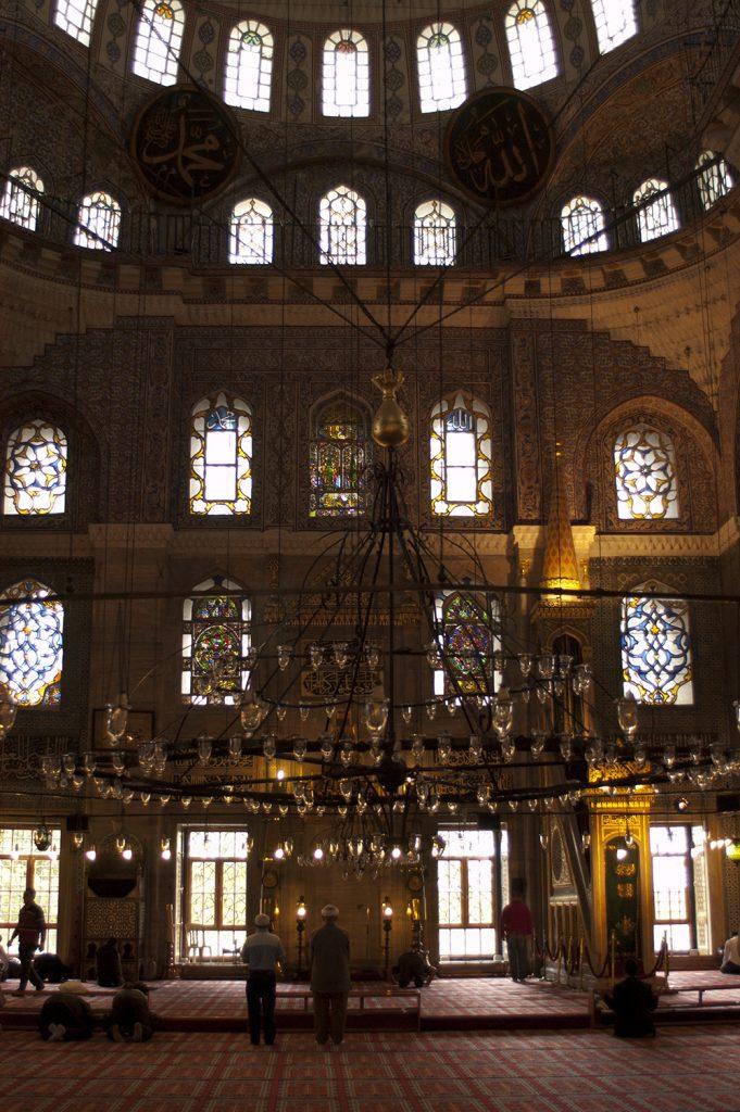 Interior de la Mezquita nueva