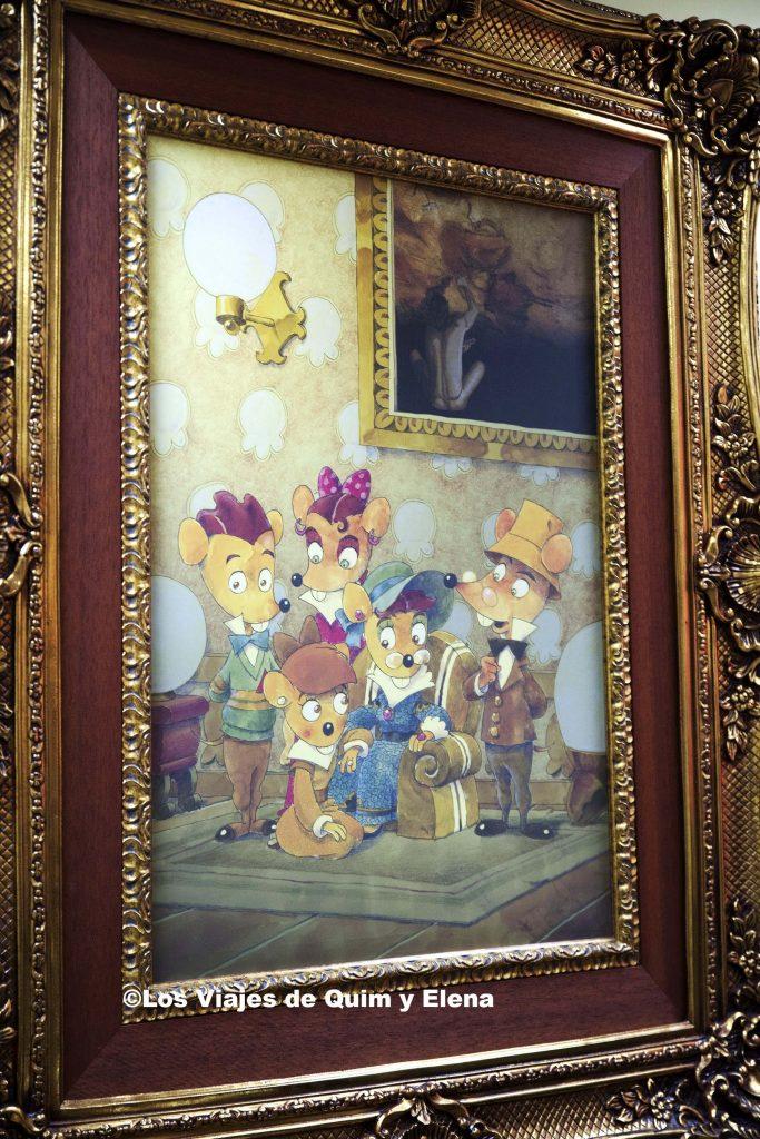 La familia Pérez en el Museo Ratón Pérez