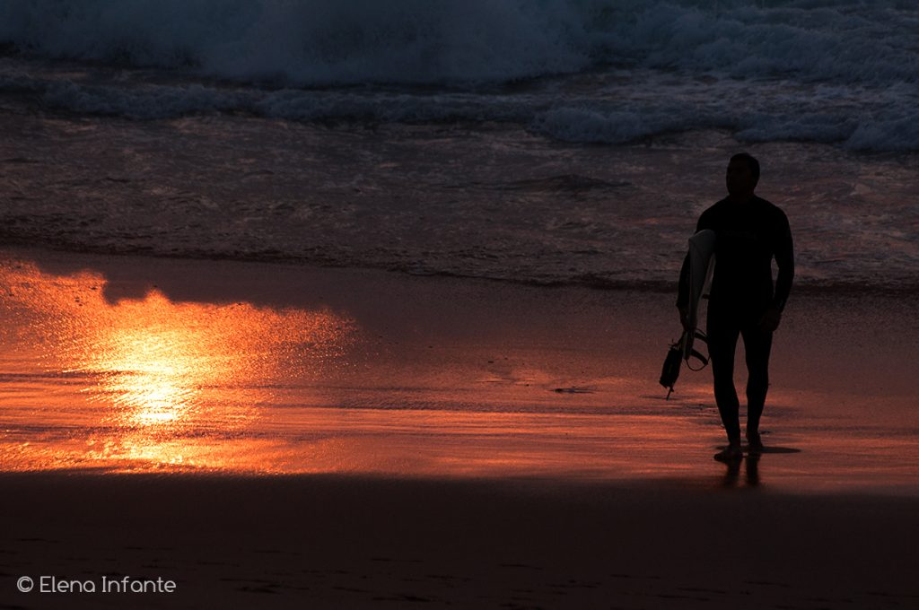 Atardecer en Praia Grande