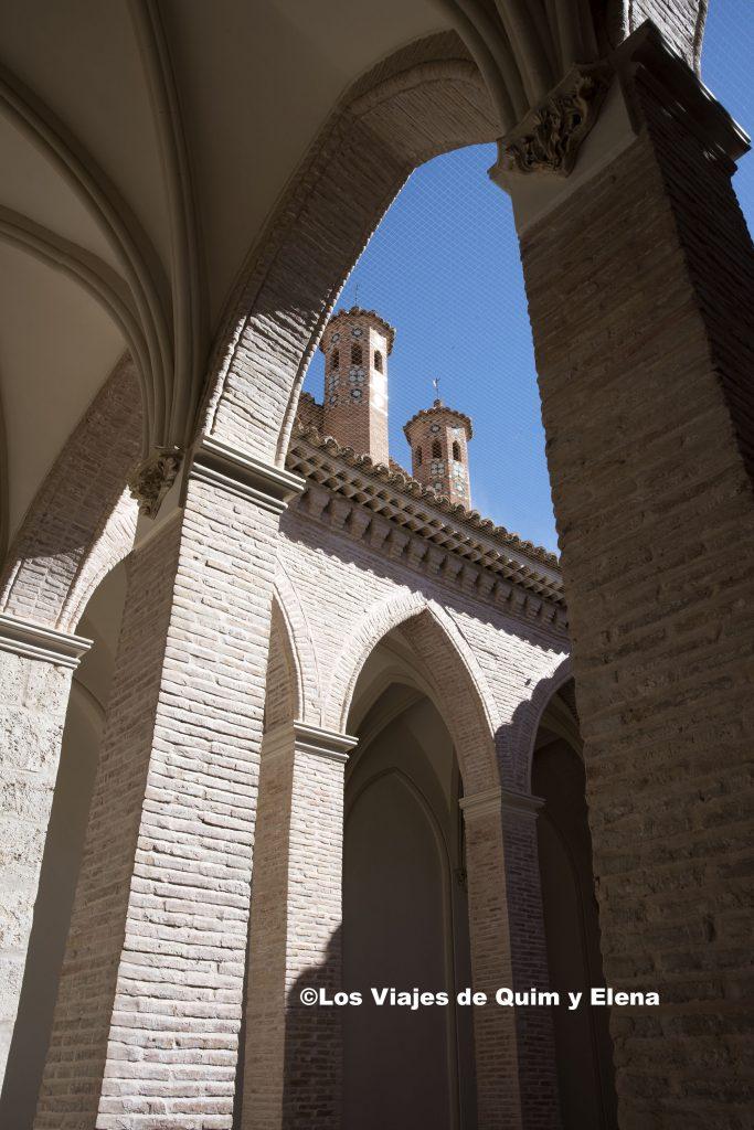 El claustro, haciendo Turismo en Teruel