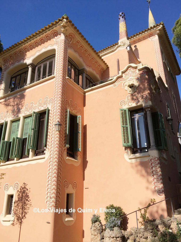 Exterior de la Casa Museo Gaudí