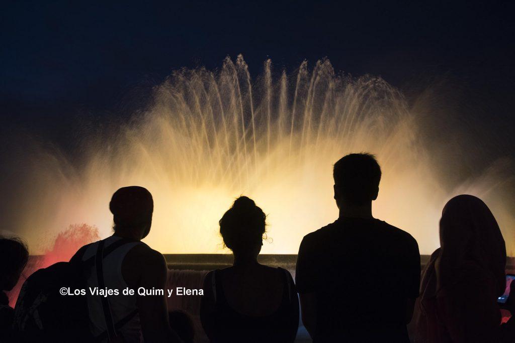 No puedes irte de Barcelona sin ver la Fuente Máagica