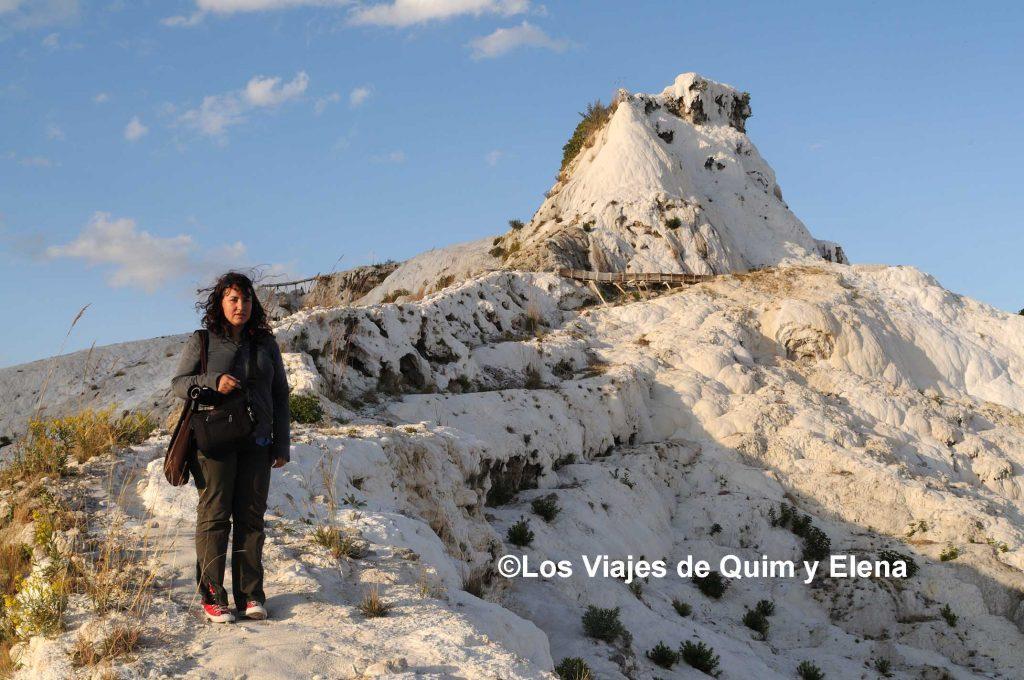 Elena en un paisaje mágico, de Antalya a Pamukkale