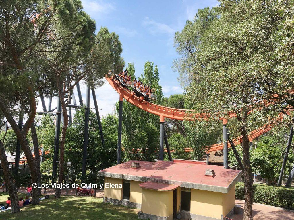 Adrenalina por todas partes en el Parque de Atracciones de Madrid
