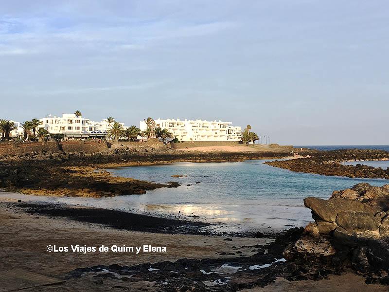 Playa del Jablillo, Lanzarote con niños